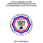 The Annual CFTC Whistleblower Report for 2017