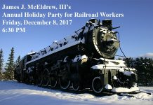 railroad workers invite